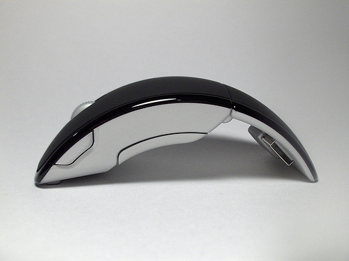 The Arc mouse is no exception Microsoft Arc Mouse Mac